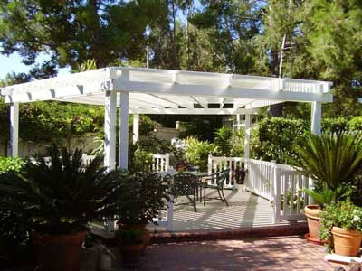 We Installed This 50/50 Vinyl Patio Cover In Santa Ana, CA. Our Client  Chose A Free Standing Patio Cover Because They Wanted An Outdoor Area To Be  With ...