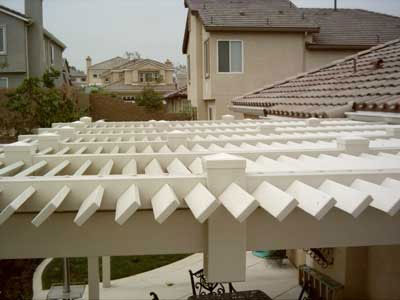 This Louvered Vinyl Patio Cover In Yorba Linda, CA Was Installed By Country  Estate Fence. This Client Chose A Louvered Style So That The Light Would Be  ...