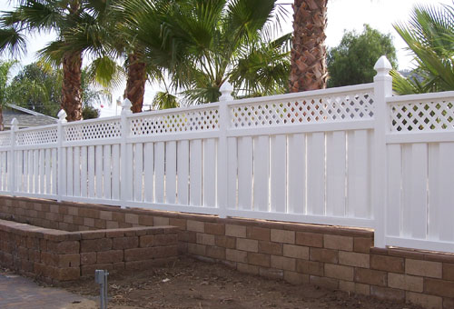 OC Vinyl Privacy Fencing