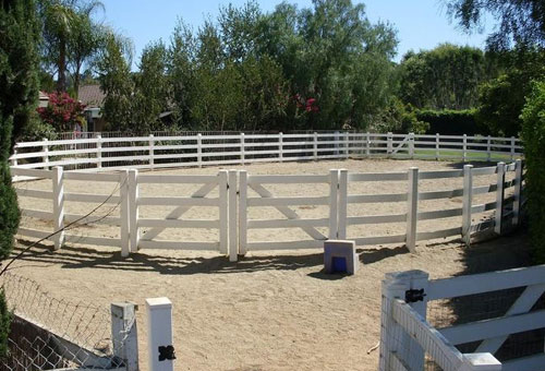 Best Equestrian PVC Fence